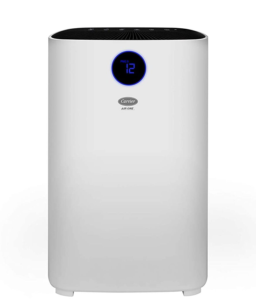 Carrier Air One Room Air Purifier with 3 Stage Filtration