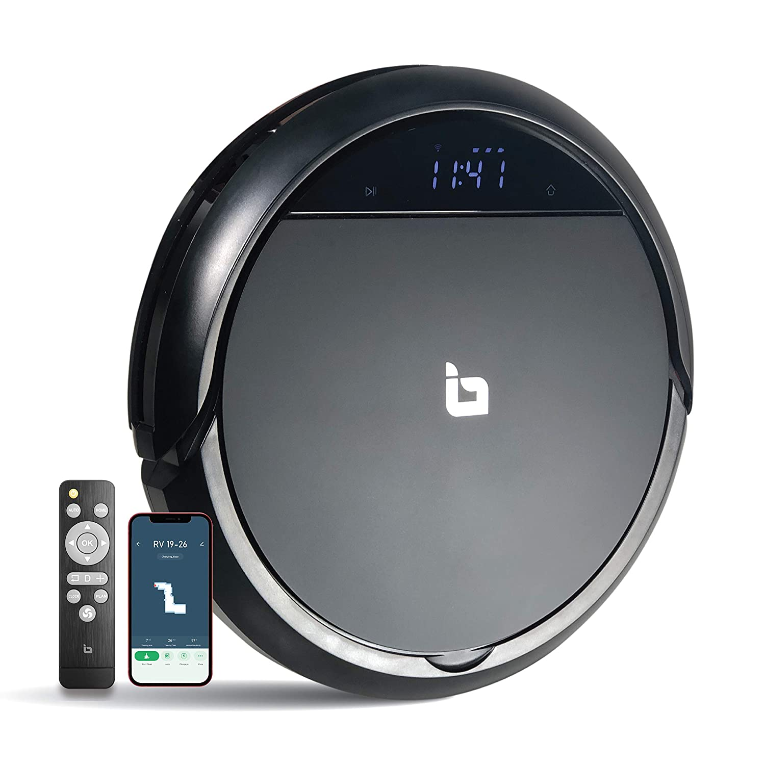 IBELL Robotic Vacuum Cleaner with Self-Charging